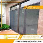 Cửa lưới chống muỗi và côn trùng cho cửa chính