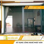 Cửa lưới chống muỗi cao cấp dành cho cửa đi