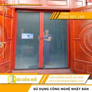 Cửa lưới chống muỗi cửa chính biệt thự