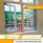 Cửa lưới chống muỗi cửa sổ biệt thự