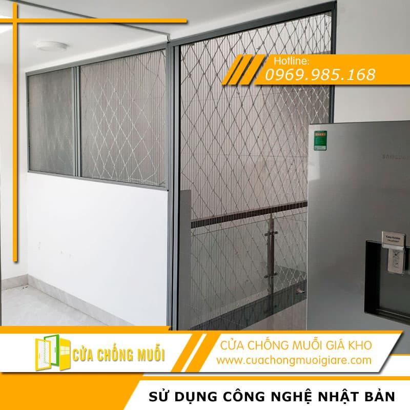 Cửa lưới chống muỗi cho cửa đi