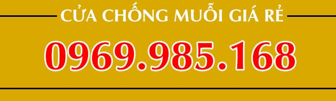 Số điện thoại mua cửa chống muỗi